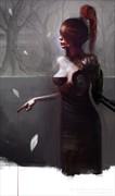 EVE Surreal Artwork by Artist Bastien Deharme