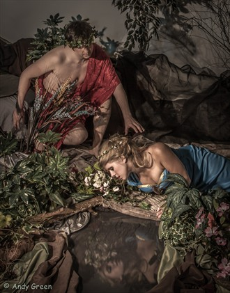 Echoes of Narcissus Vintage Style Photo by Photographer GreenEye