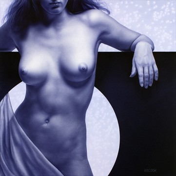 Eclipse Artistic Nude Artwork by Artist A.D. Cook