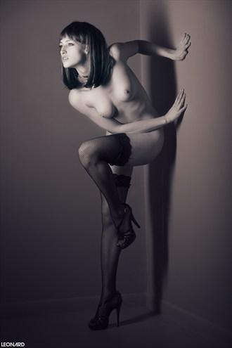 Eclipse B&W Artistic Nude Photo by Photographer LEONARD Photography