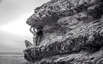 Edge of the World Artistic Nude Photo by Model California Kaela