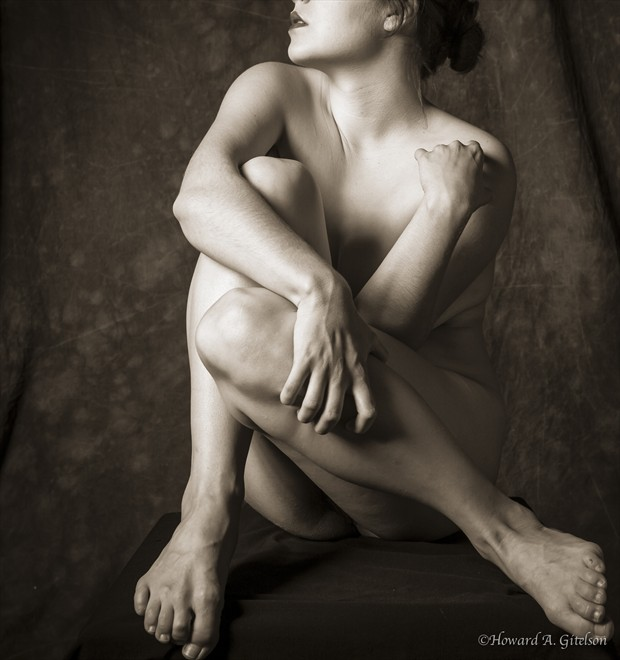 Edith P at Work Artistic Nude Photo by Photographer HGitel