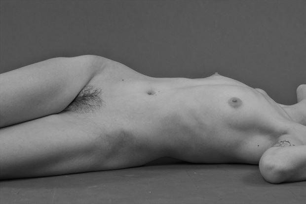Edward Weston Inspired Photo Session Figure Study Artwork by Photographer Domingo Medina