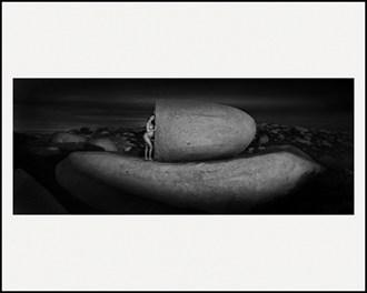 Egg Rock Artistic Nude Photo by Artist LightBrushedImages