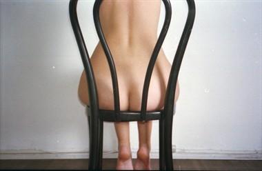 Ein Stuhl in der H%C3%B6lle Artistic Nude Artwork by Model RomiMuse