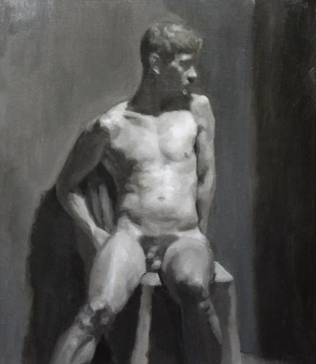 Eiren (study) Artistic Nude Artwork by Artist JFisher86