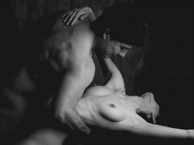 El Baile Artistic Nude Artwork by Model Diana Revo