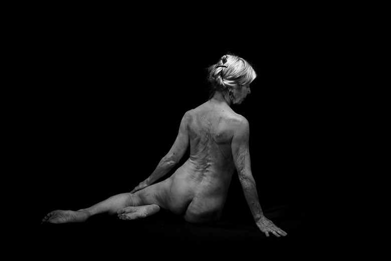 Elderly Woman Artistic Nude Photo by Photographer Jyves