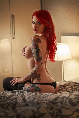 Elegance Tattoos Photo by Model Andreea Rosse
