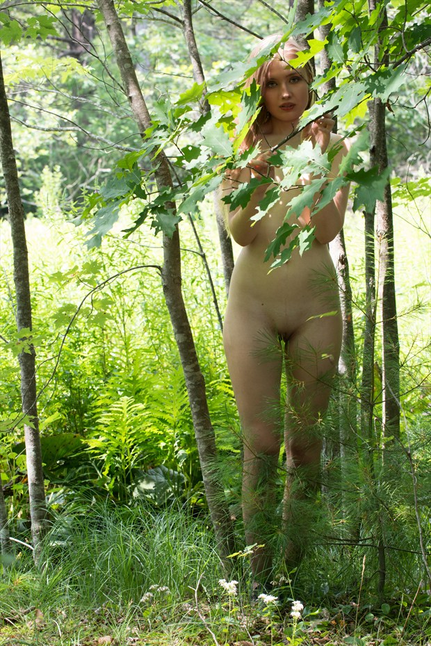 Elin Among the Trees Artistic Nude Photo by Photographer Mass Photo Guy