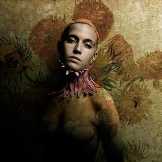Elizabeth Artistic Nude Artwork by Photographer Bear Kirkpatrick