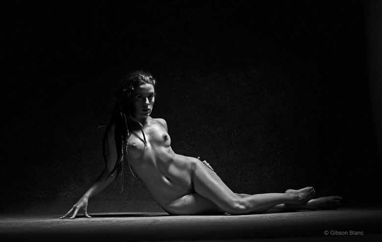 Elle Black Artistic Nude Photo by Photographer Gibson