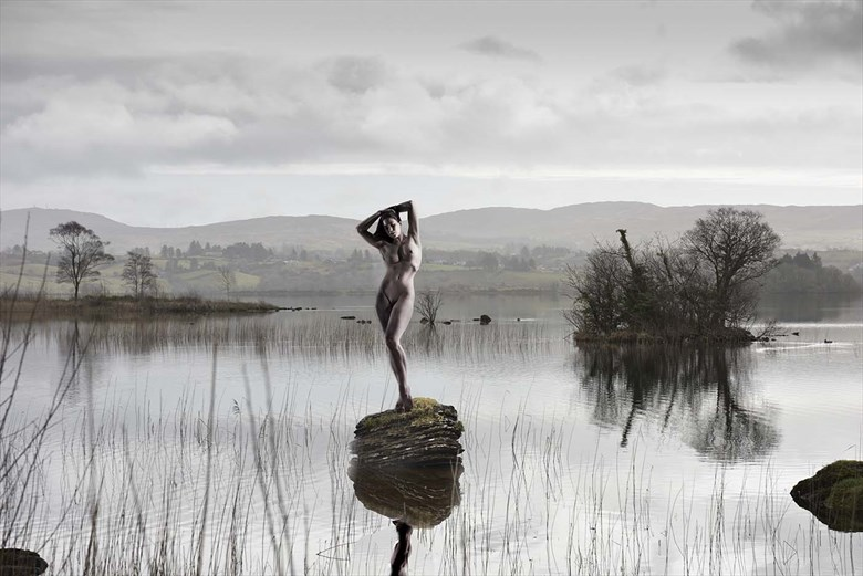 Elle Eske lake Artistic Nude Photo by Photographer pmurph