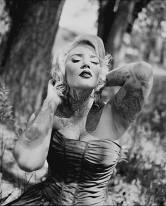 Elle Jay Fisher, Colorado Springs, Colorado  Tattoos Photo by Model Riskay Business