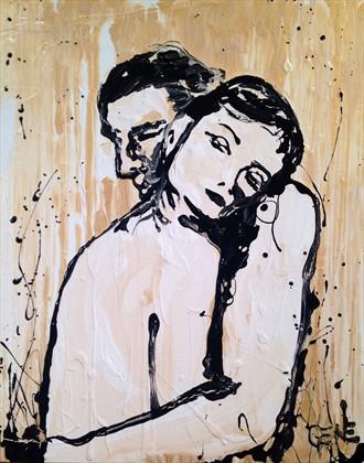 Elsewhere Artistic Nude Artwork by Artist artistGENE