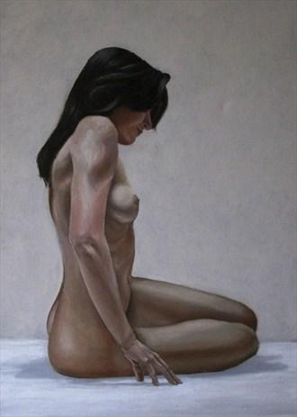Ema In progress Artistic Nude Artwork by Artist Daniel