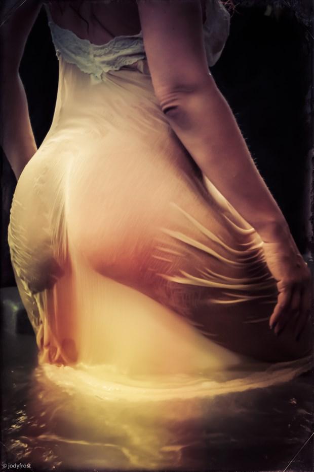 Emanuela's Wet Slip Lingerie Photo by Photographer jody frost