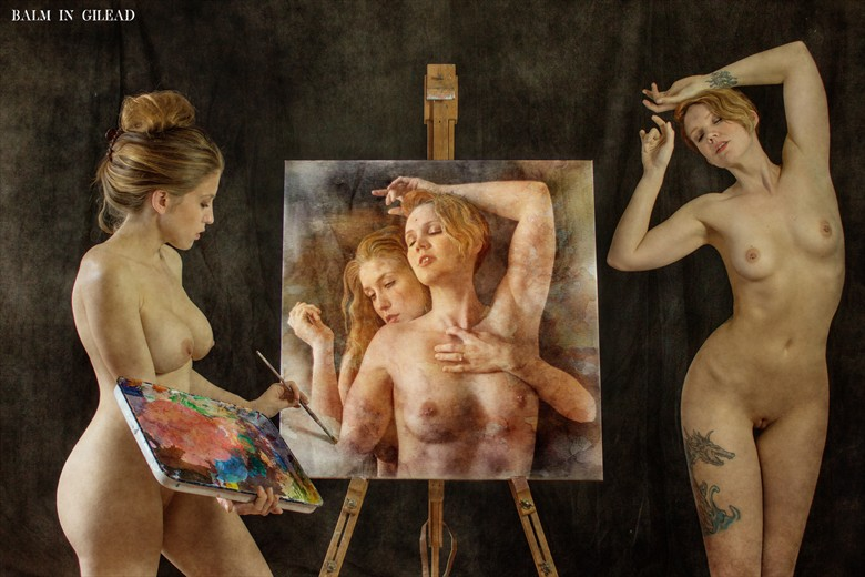 Embracing the muse Fantasy Photo by Photographer balm in Gilead