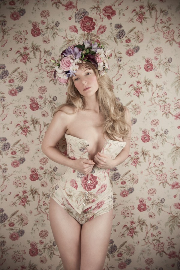 Emergence of a wallflower Vintage Style Photo by Model Muse