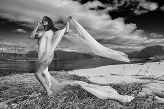 Emily at the river Artistic Nude Photo by Photographer Daniel Tirrell photo