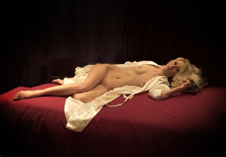 Emma Recliniing Artistic Nude Photo by Photographer BarleyFields