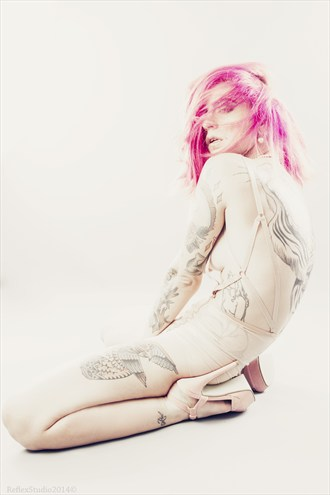 Emphasized Tattoos Photo by Model Miele Rancido