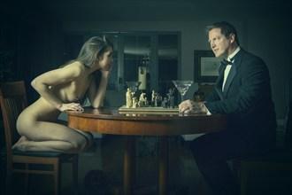 En Passant Artistic Nude Photo by Photographer Greg Gardner