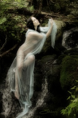 Enchanted Falls Artistic Nude Photo by Artist Kevin Stiles