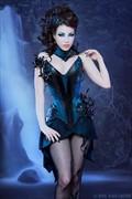 Enchanted Gardens II Fantasy Artwork by Model Morgana