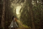 Enchanted Nature Artwork by Artist phatpuppyart