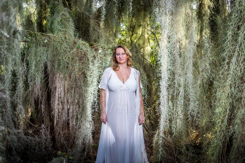 Enchanted Nature Photo by Model Curvy Krista