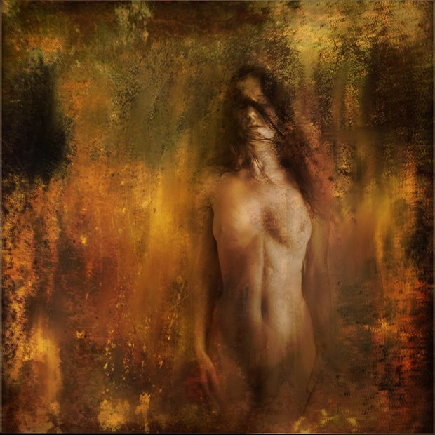 Enflamed Artistic Nude Artwork by Photographer Dave Hunt