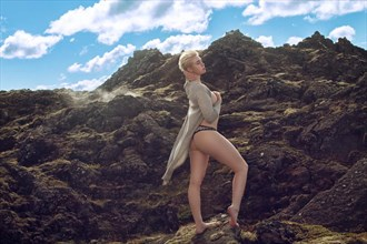 Enjoying the View Nature Photo by Model Deeza Lind