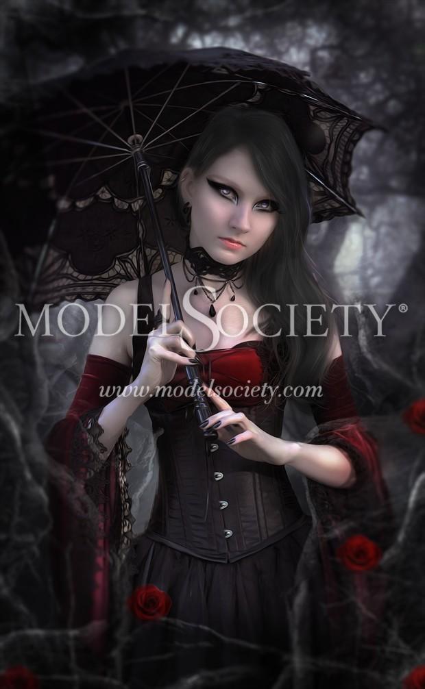 Entangled Photo Manipulation Artwork by Artist phatpuppyart