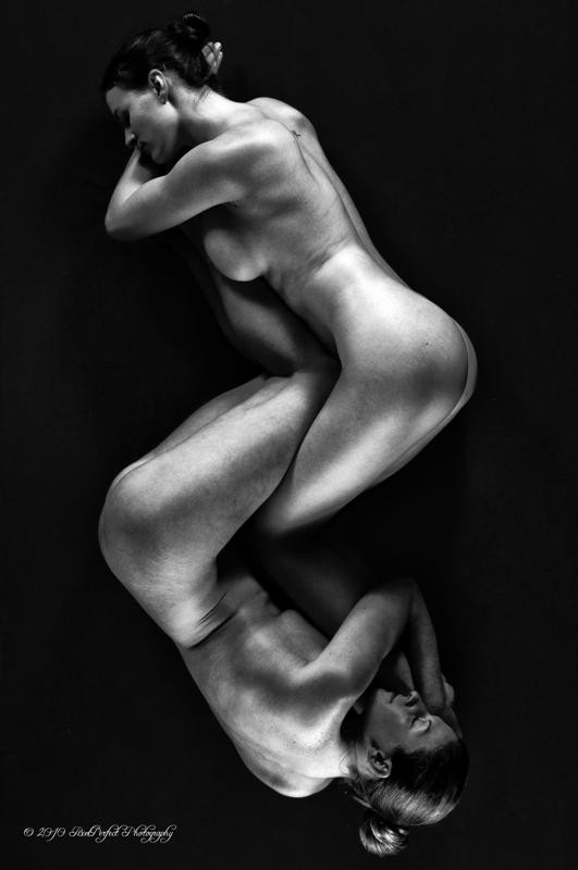 Entwined Artistic Nude Photo by Model Mila