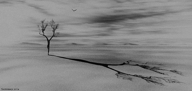 Erosion Artistic Nude Artwork by Photographer Thornback