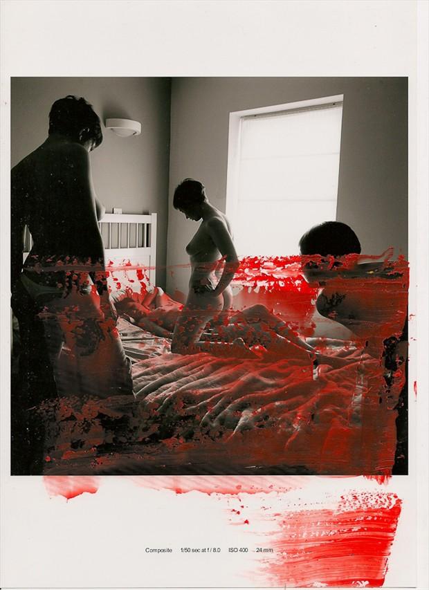 Erotic Experimental Artwork by Photographer Charlotte