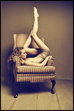 Erotic Fashion Photo by Model Jenna Kellen