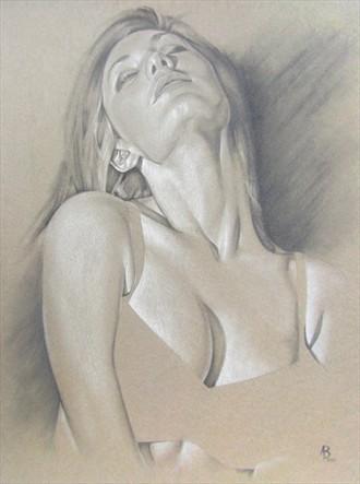 Erotic Glamour Artwork by Artist Adam Braun