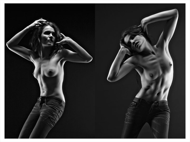 Erotic Glamour Photo by Model Ine