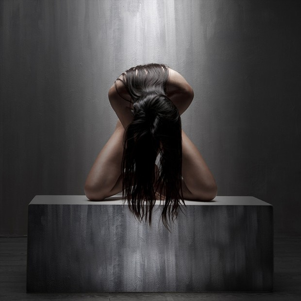 Erotic Implied Nude Photo by Photographer Francois Benveniste