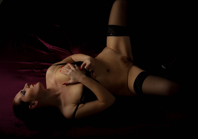 Erotic Pinup Photo by Model Ania1