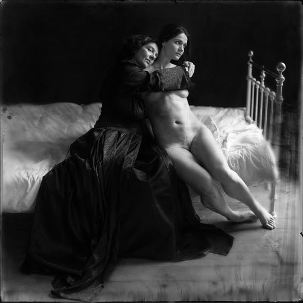 Erotic Retro Photo by Model Ine