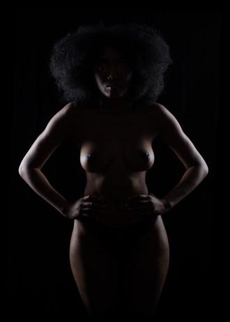 Erotic Silhouette Photo by Model TShaw
