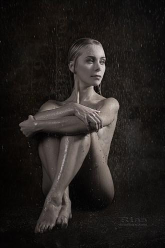 Erotic Studio Lighting Photo by Model Julia