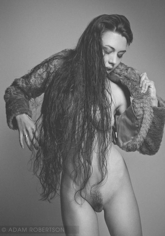 Erotic Vintage Style Photo by Model Gestalta