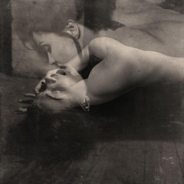Erotic Vintage Style Photo by Model Ine