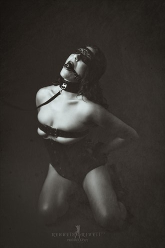 Erotic Vintage Style Photo by Photographer Kenneth A. Kivett Photography