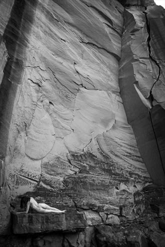 Escalante Canyon Artistic Nude Photo by Model Jessa Ray