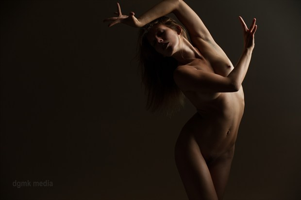 Escape Artistic Nude Artwork by Model VexV oir